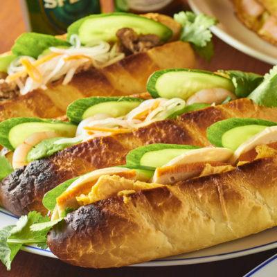 BÁNH MÌ vietnamese sandwich – バインミー –
